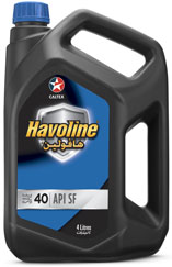 Havoline Motor Oil SAE 40