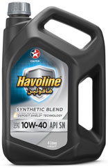 Havoline Semi Synthetic SAE 10W-40